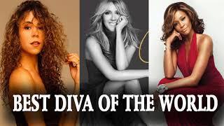 Best Of Mariah Carey, Celine Dion, Whitney Houston -Greatest Diva Of The World