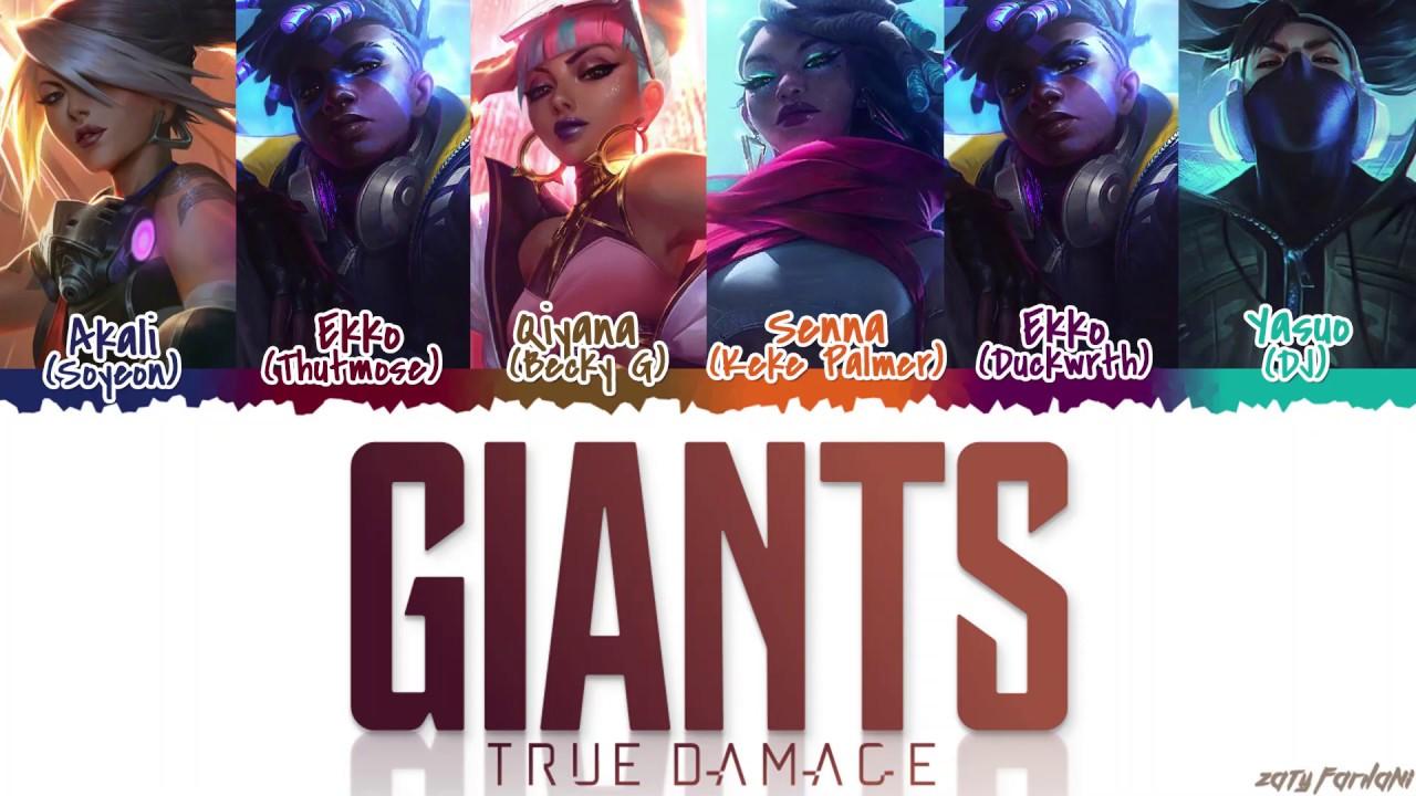 Download TRUE DAMAGE - 'GIANTS' Lyrics [Color Coded_Han_Rom_Eng]