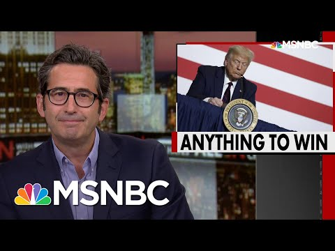 Sam Seder: Trump Flails For Reelection Strategy After Plan A Falls Apart | All In | MSNBC