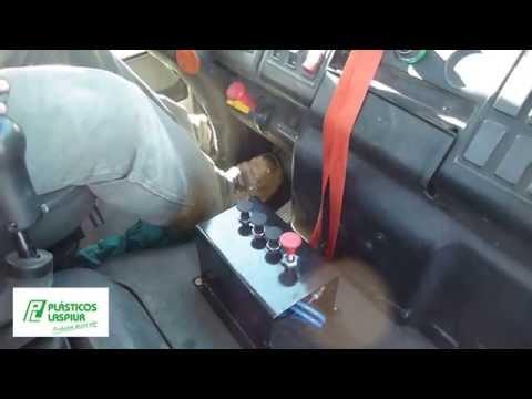 Equipo de Riego instalado sobre Camion. Plasticos Laspiur Srl