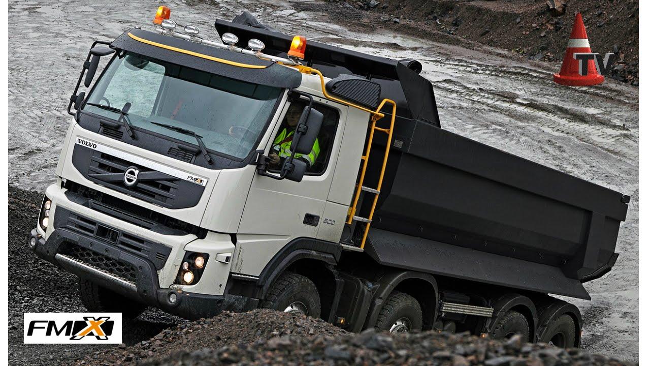 TEST Camión VOLVO FMX en Volvo Trucks Argentina y Canteras ...