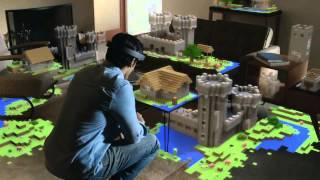 Microsoft HoloLens - Offizieller Ankündigungstrailer