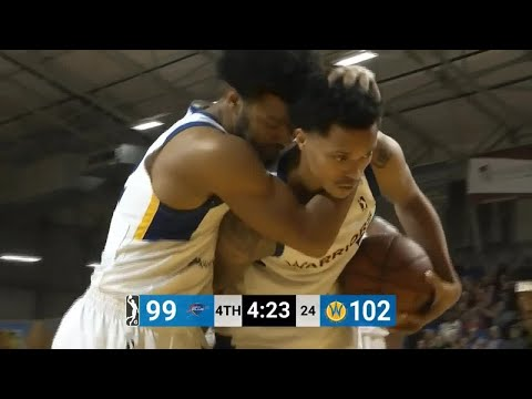 Quinn Cook Posts 23 points & 12 assists vs. Oklahoma City Blue