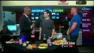 Man loses 150lbs in 8 months through mind diet!