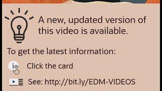 Overview: Tour of Enterprise Data Management Cloud video thumbnail