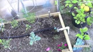 Diy Self Watering Soaker System For Raised Garden Beds