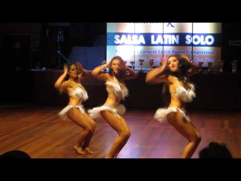 Australian Salsa Open 2013 - The AlaShaMel Ladies