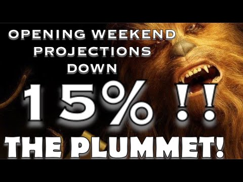 THE FANDOM STRIKES BACK!  SOLO Opening weekend projections DOWNGRADED SEVERELY!