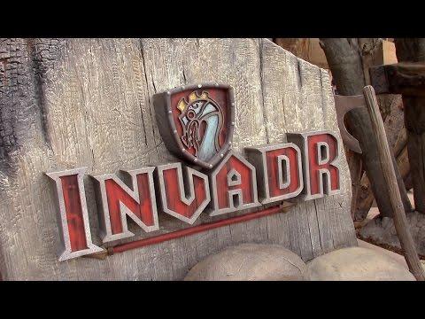 InvadR Review Busch Gardens Williamsburg GCI Wooden Coaster