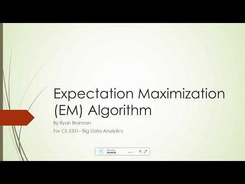 Expectation Maximization Algorithm explanation and example