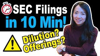 How to Read SEC Filings When Buying Penny Stocks | $ZYNE $YRIV