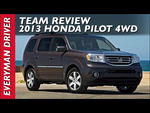 Watch This: 2013 Honda Pilot 4WD on Everyman Driver