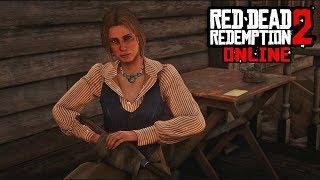 RED DEAD REDEMPTION 2 ONLINE - MEETING BONNIE (MACFARLANE) RDR1 CUTSCENE