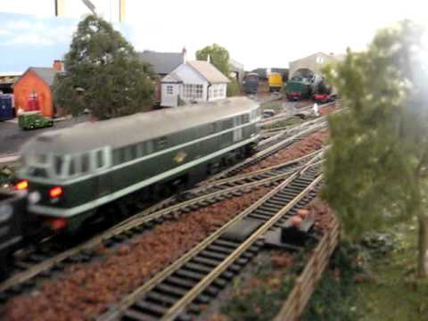 My Hornby 8 x 4 Layout Part 1