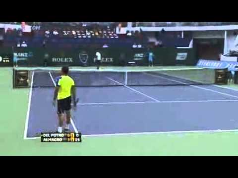 ATP Shanghai Rolex Masters 2013 ~ Quarterfinal Full Match   Juan Martin Del Potro Vs Nicolas Almagro