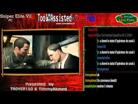 Tool Asssisted SpeedFun #2 - Sniper Elite V2 (single segment/any%)