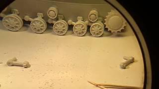 building tank model kv 85 from eastern express 1 35 часть 2
