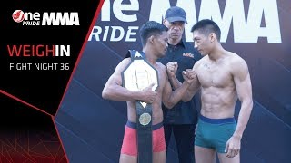 Weigh-In FN #32 | One Pride MMA (15/2/2020)