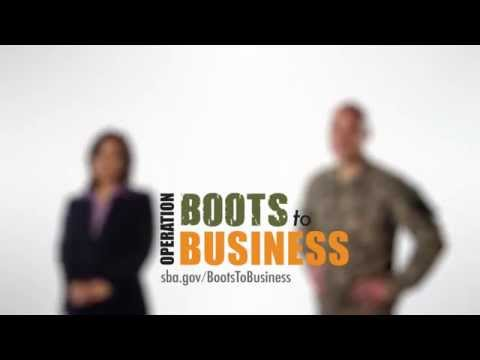 Boots to Business: Tony Turin & Sandra Gonzales (30-sec)