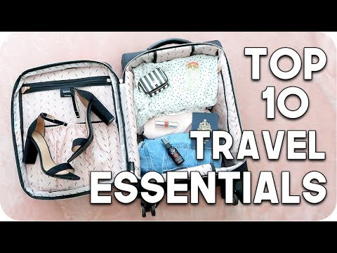 Top 10 Travel Essentials 2018!!