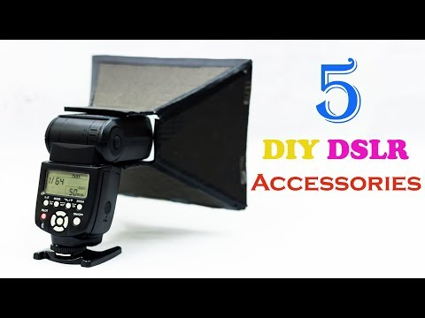 5 DIY DSLR Accessories