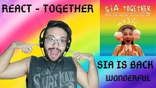Download Lagu React Sia - Together from the motion picture Music MP3