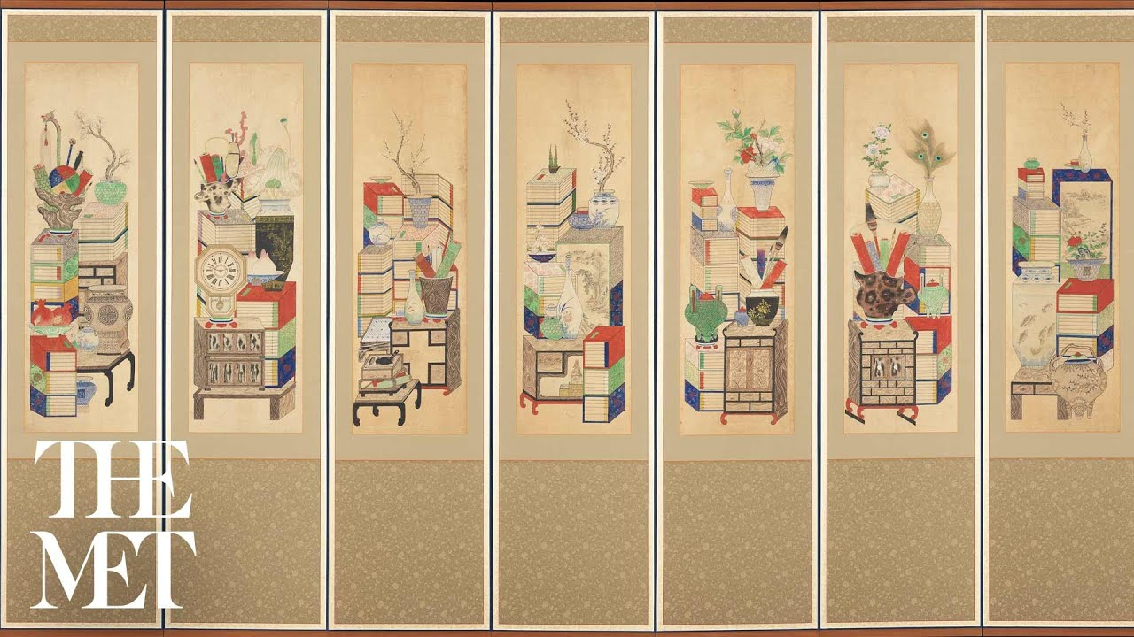 Picturing Possessions: Korean Munbangdo Painting | Insider Insights