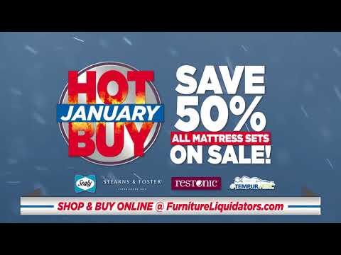 Furniture Liquidators  January Hot Buys 2018