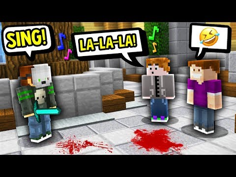 SIMON SAYS SING ME A SONG! (Minecraft Murder Mystery)