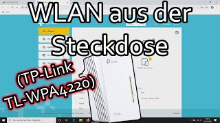 WLAN mittels Powerline erweitern (TP-Link TL WPA4220 KIT)