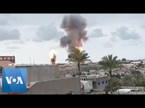 Israeli Military And Gaza Militants Clash