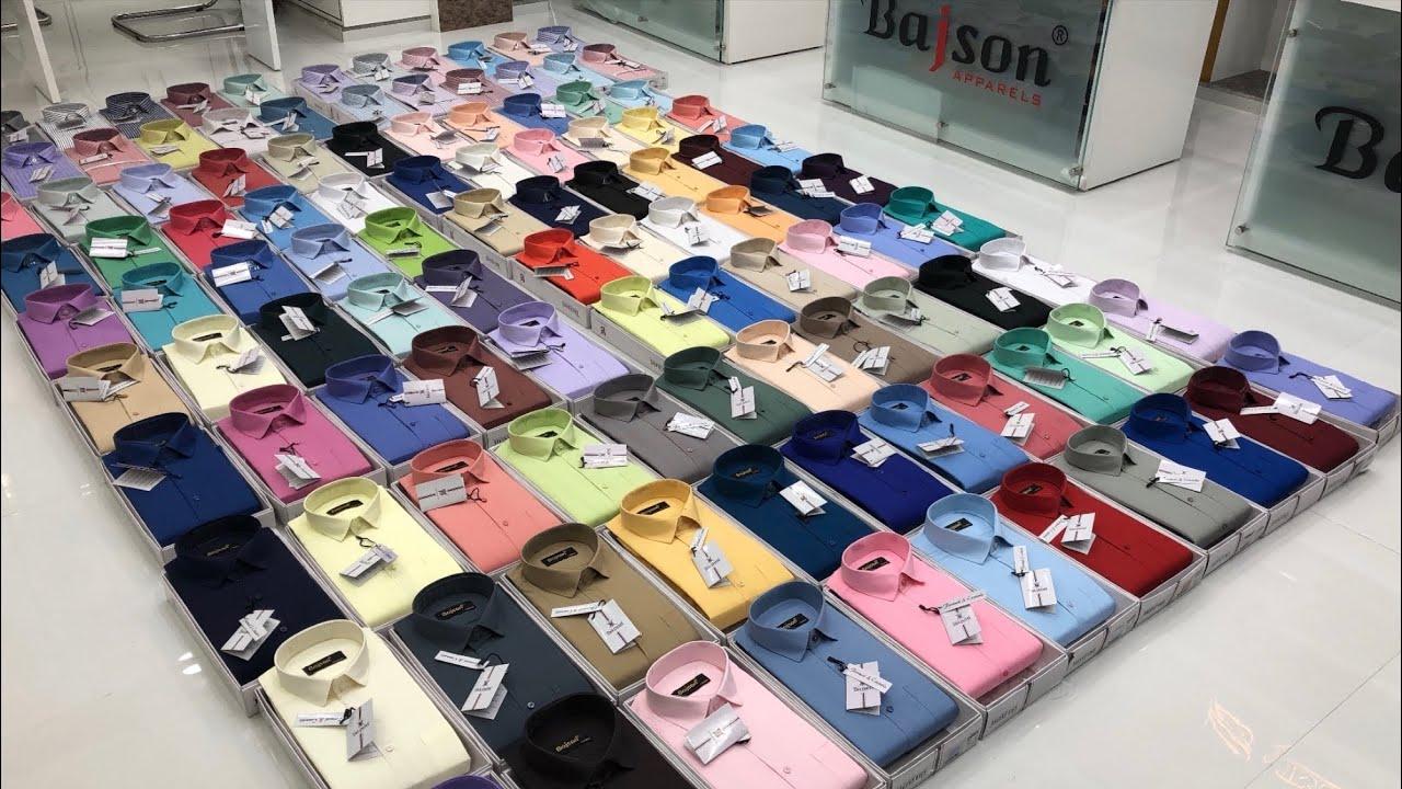 Biggest Shirts Wholesaler And Manufacturer in Delhi    Bajson Shirts