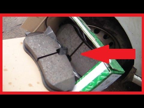 видео: Замена передних тормозных колодок fiat scudo