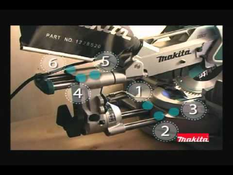 "Makita LS1216L 12"" Dual Slide Compound Miter Saw with Laser @ WholesalePowerTools.com"
