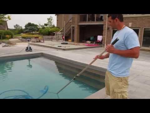 Manual pool vacuum instructions by Matt...