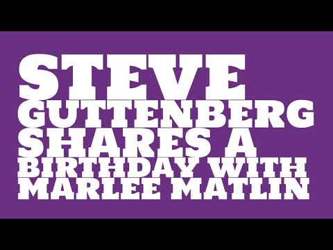 What was Steve Guttenberg's astrological sign?