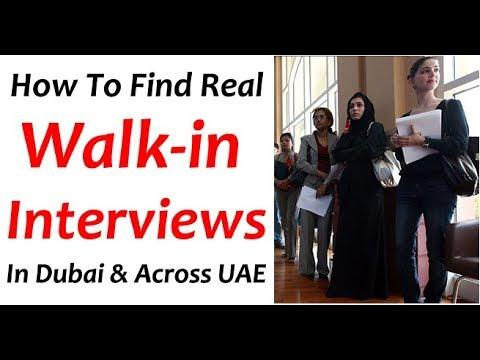Walk in Interview in Dubai Tomorrow & UAE Today Updates (Aug 2019)