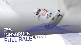 Innsbruck | BMW IBSF World Cup 2020/2021 - Women's Bobsleigh Heat 1 | IBSF Official