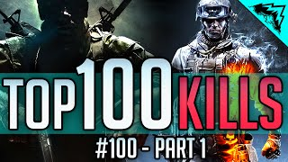 top 100 kills battlefield 4 call of duty part 1 best of top kills plays gameplay wbcw 100