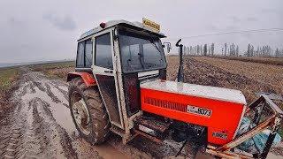 Yağmurlu Havada Toprak Analizi İçin Numune Almak    Çiftçinin İşleri #1