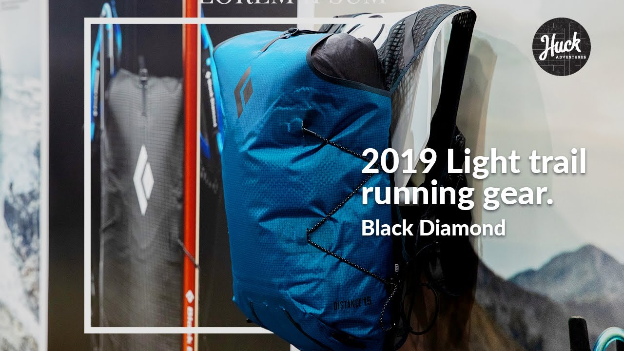Black Diamond Trail Running Lineup At Outdoor Retailer