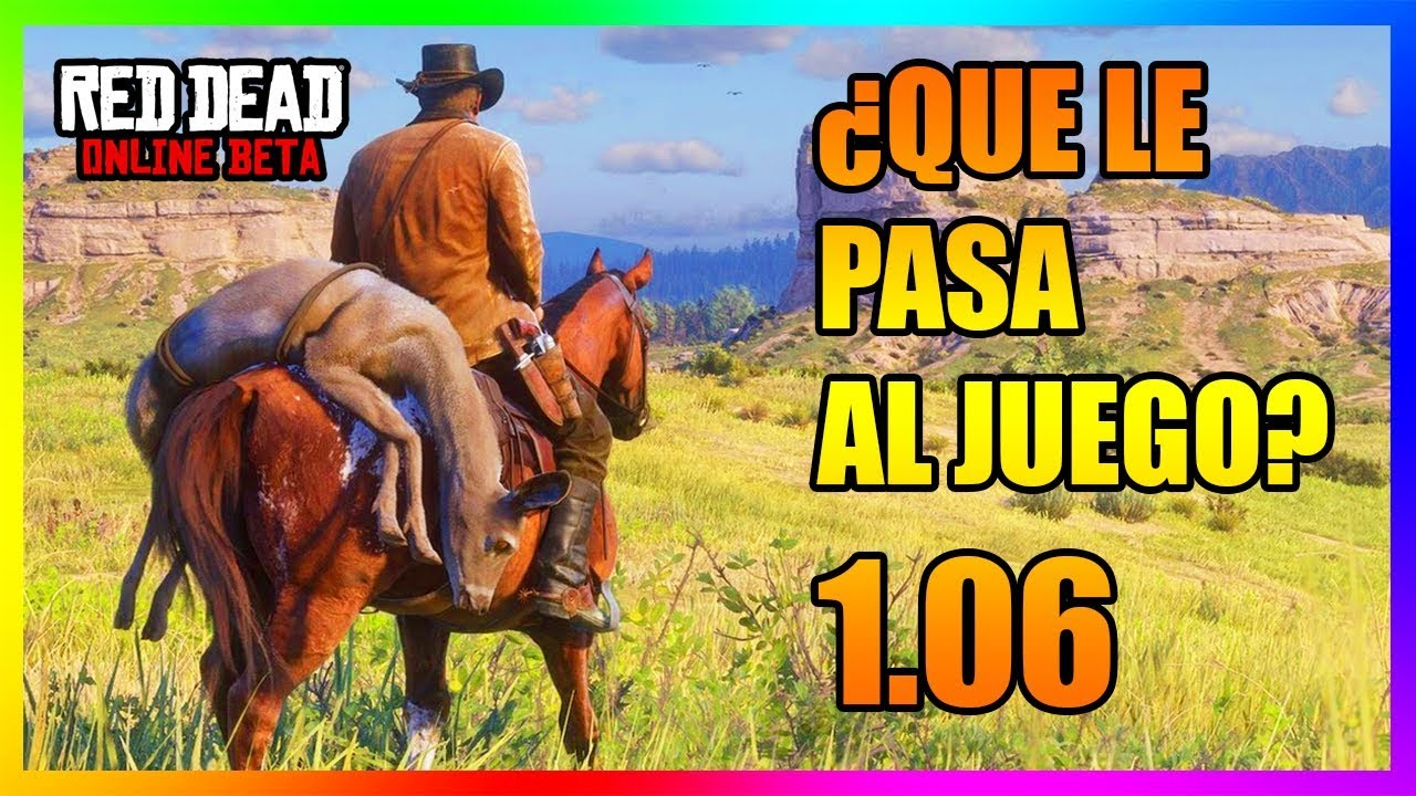 ¿QUE LE PASA A RED DEAD REDEMPTION 2 ONLINE? | OPINION PERSONAL | 2019 1.06