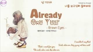 벌써 일년 (Already One Year) - 브라운 아이즈(Brown Eyes) Phiên âm tiếng Việt