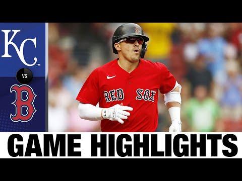 Royals vs. Red Sox Game Highlights (7/01/21)   MLB Highlights
