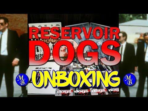 Reservior Dogs (Nova Media) Blu-ray Lenticular Steelbook - Unboxing