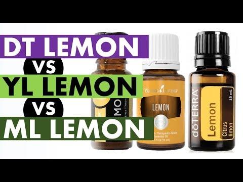 Lemon Essential Oil: DoTERRA VS Young Living VS Melaleuca Company