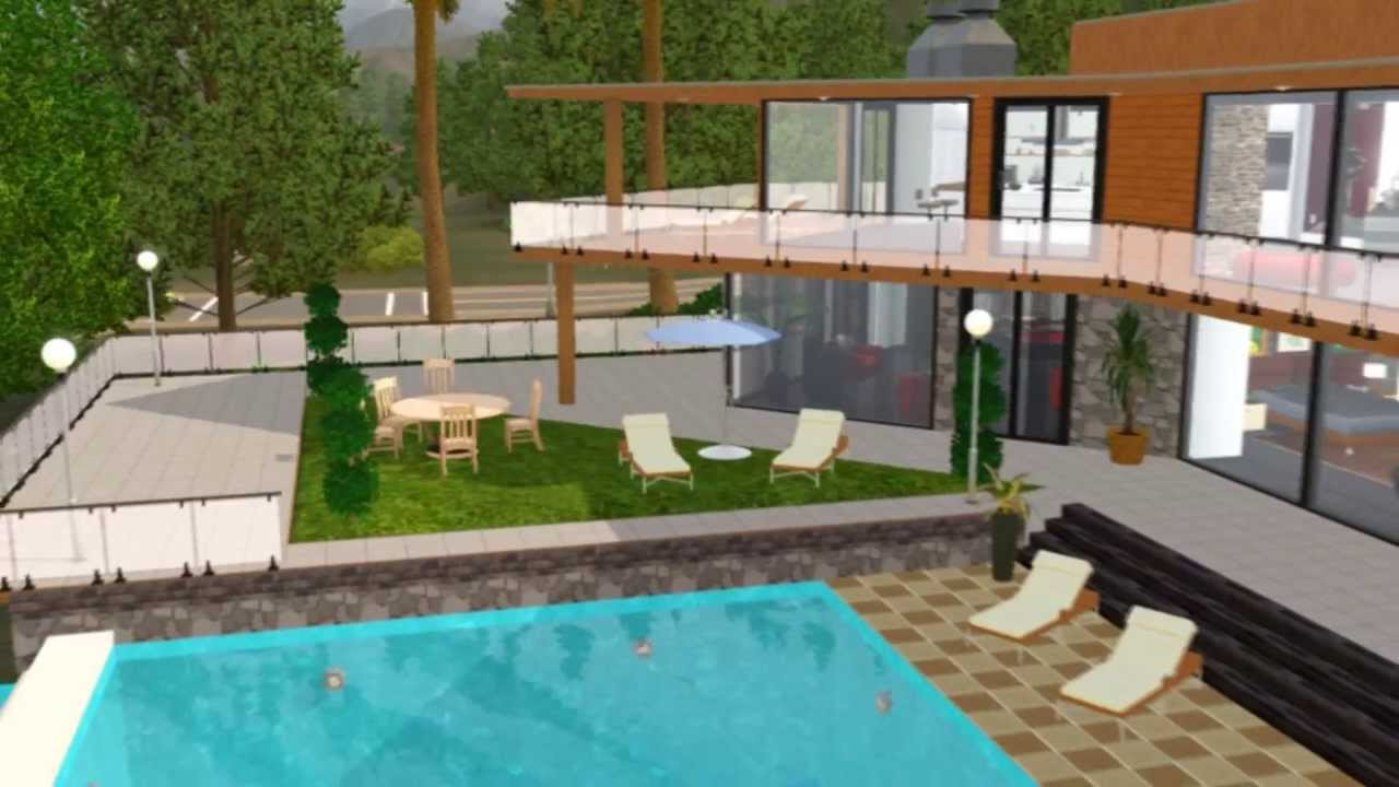 The Sims 3 House Franklin Clinton On Vinewood Hills Of The