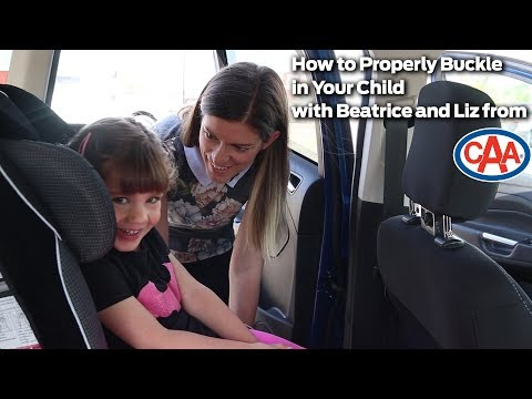 How to Properly Secure a Child in a Front Facing Car Seat