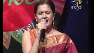 Chaitra singing sri chamundeshwari