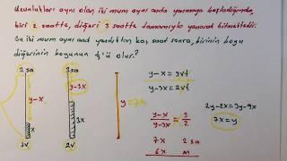 Mum sorusu ve en pratik çözümü (3 Farklı Yolla)  - Mum soruları - Pratik  yol